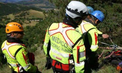 Due escursionisti si perdono di sera sulle Dolomiti a quota 2.400 metri