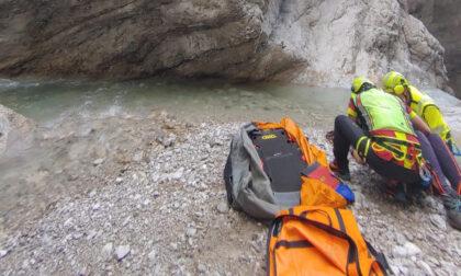 Escursionista danese precipitata in Val Montina: è in gravi condizioni