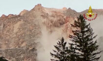 L'impressionante video della frana detritica dal monte Marcora a San Vito di Cadore