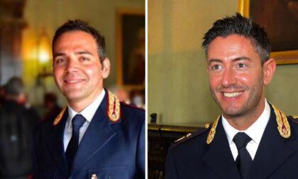 Nuovi incarichi alla questura di Belluno per Federico Farris e Angelo Montana